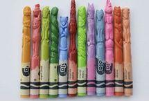 creioane de ceară