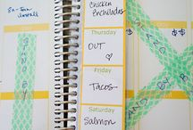 Erin Condren Planner Ideas / Planner Ideas / by Lisa Rodarte