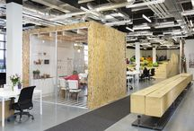 workspace. / Pins of inspiring and creative work spaces. From at home offices, to co-working facilities, jaw-dropping public gathering spots and generally stunning business headquarters.