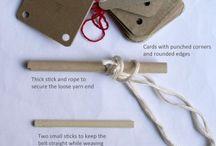 Brikkeveving / Card weaving