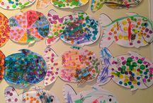 Rainbow fish lesson / by Paige Curtis