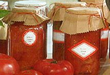 Preserving produce from the garden