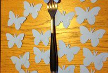 Création décoration pour Anniversaire 60 ans de mariage thème des papillons