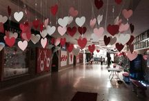 Valentine day decorations
