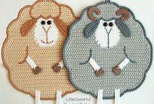 Crochet - Pot Holders