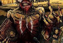 #Iron#Maiden#Eddie