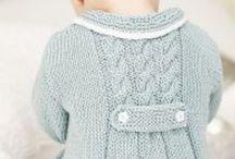 Детская одежда спицами
