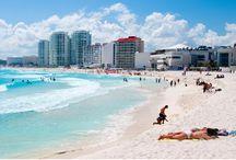 Playas de cancún  / Una Breve descripción gráfica de un día completo en las playas de cancún