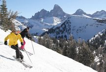skiing Grand Targhee
