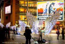 Angels of Freedom @ Festival of Lights 2015 / OGE Group, Merav Eitan und Gaston Zahr  Fotos by Frank Herrmann, Nelofee