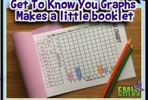EMW - Back to school math ideas / Creative ways to kick off math!