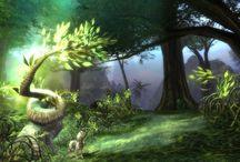 Plants & Flowers - Game Art / Inspirition for plants - Delmor (game)