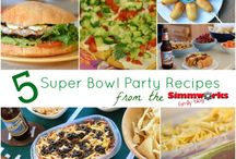Super Bowl Party Ideas and Recipes