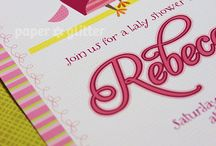 Personalized Printable Invitation Cards by Paper Glitter