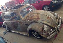 Vw Bug burlap / Hoodride