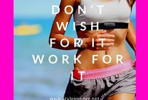 { Fitness } / I am always needing a little extra motivation for fitness daily.