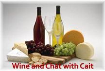 Wine and Chat with Cait / Join me in talking with authors as we visit different locations.