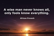 African Proverbs / African proverbs