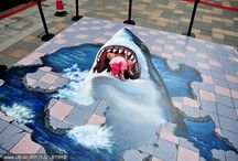 Amazing 3d street painting that blowup your mind