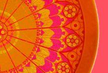 Pink- orange