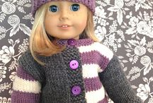 CLOTHES FOR DOLLS KNIT & CROCHET