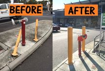 We have totally revamped a bollard installation in Geelong! Check it out>>> goo.gl/lUJQ4b