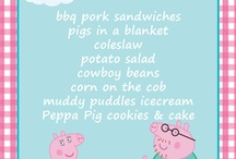 I plan birthday parties - Peppa Pig