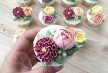 Cup cake decoration