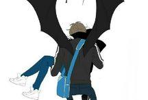 Raising a bat ✞