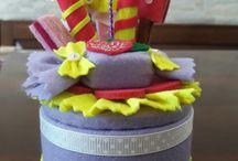 Torta scatola feltro Torta caixa feltro E 20