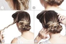 Quick hair updos