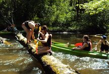Spływ kajakowy - wiosna 2013