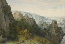 dutch landscape drawing XVI