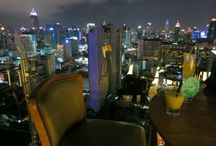 Restaurants & Bars with a View / Roof top, beach and other cool bars in Asia