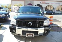 Used 2005 Nissan Armada for Sale ($15,499) at Paterson, NJ / Make:  Nissan, Model:  Armada, Year:  2005, Body Style:  Tractor, Exterior Color: Black, Interior Color: Black, Vehicle Condition: Excellent,  Mileage:72,000 mi, Engine: 8Cylinder V8, 5.6L, Transmission: 5 Speed Automatic, Fuel: Gasoline Hybrid.    Contact;973-925-5626    Car Id (56661)