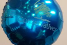 Hand Painted Balloons / If you want something personalised, we can do it for you!  Hand painted balloons are one of our specialities!