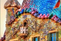 Gaudi -  architecture / Unique Architecture.