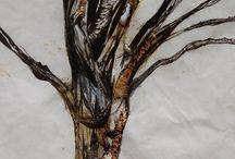 Raw Art (RachelEJArt) / by Rachel Taylor. Ceramics, Painting, Drawing and Sculpture.