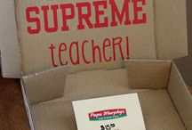 Teacher Treats! :)