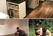 Homemade Desks