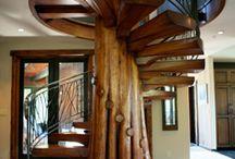 stairs , window ,