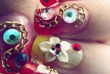 Some OVER THE TOP nail designs!