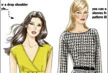 Блузы,Платья (крой и шитьё)