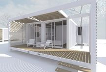 Zeecontainer tuinhuis
