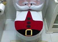 juego de baño navideño