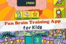 fun brain training app for kids - helping kids to be smarter #kidsapps