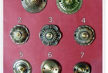 Artykuły z mosiądzu - Articles of brass / Polskie rękodzieło Klamki i okucia mosiężne - door handles and brass fittings