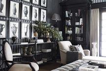 Black White Timeless Decor / The timeless appeal of www.blackwhitehome.com