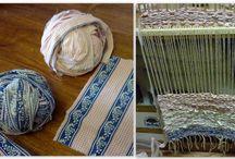 Weaving /Tkaní na kolíkovém stavu