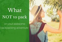 Become a Backpacker / I'm here to take you from A to B in the world of backpacking.  Open up your eyes to a whole new culture!!